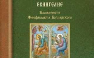 Святое евангелие от матфея. Толкование на Евангелие от Матфея (Блаженный Феофилакт Болгарский)