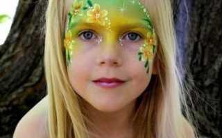 Рисунки на лице для детей в домашних условиях. Для этого нужно следовать инструкции