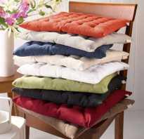 Подушка для стула со спинкой своими руками. Подушка на стул своими руками: подборка лучших методик по её изготовлению в домашних условиях. Самая простая подушечка