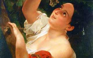 Сообщение о творчестве к брюллова. Брюллов карл павлович – галерея произведений (308 изображений)