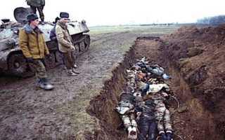 В каком году была вторая чеченская. Война в Чечне – черная страница в истории России