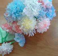 Детские поделки из салфеток своими руками. Поделки из бумажных салфеток: идеи, техники и мастер-классы. Как сложить цветок из салфетки на стол своими руками