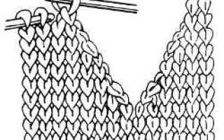 Помощь вывязывания горловины свитера. Вязание горловины спицами для начинающих: круглой, прямоугольной, V-образной. Вариация десятая: с бейкой и итальянским краем