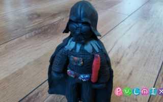 Как сшить маскарадный костюм дарта вейдера. «Звездные войны»: костюм своими руками. Описание, пошаговое изготовление. Лепка из пластилина