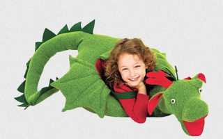 Как сделать костюм дракона в домашних условиях. Костюм дракона — мастер класс с выкройками. Чтобы сшить костюм дракона, что нам потребуется купить в магазине тканей
