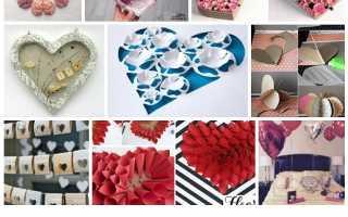 Печатать валентинки заготовки цветные. Сердечки из бумаги своими руками: самые простые способы сделать валентинку. Мастер-класс изготовления валентинок пошагово