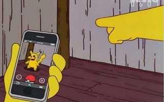 В какой серии гомер ловит покемонов. Неужели Симпсоны предсказали Pokemon GO? Тут все упоминания