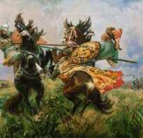 Сочинение описание картины Поединок Пересвета с Челубеем (Поединок на Куликовом поле) Авилова. Куликовская битва: кратко