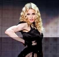 Кто по национальности мадонна. Мадонна — одна из наиболее влиятельных женщин XX столетия