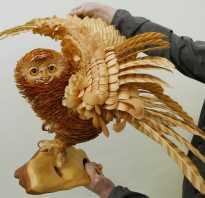 Скульптуры из древесной стружки. Сергей Бобков: Живая стружка