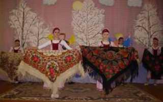Ситцевый платок на голову истории. Русские шали и платки. А ты все та же – лес да поле