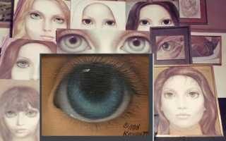 Маргарет кин большие глаза. Маргарет кин и ее большие глаза