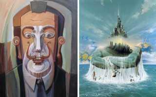 Художественные приемы сюрреализма в живописи. В мире красочных снов и древнегреческих мифов художника Войтека Сьюдмака