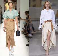 С чем носят серую юбку — модные образы этого сезона. Бежевая юбка: с чем носить и какие цветовые сочетания выбирать С чем сочетается юбка