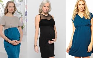 Ситцевое платье для беременных своими руками. Выкройка платья для беременных: необычное занятие для начинающих мастериц на период ожидания малыша — пробуем себя в качестве швеи