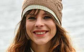 Трикотажные шапки. Шапки спицами: схемы вязания, новинки. Модные вязаные спицами женские шапки на весну, осень, зиму: описание со схемой