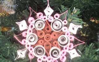 Снежинки из бумаги своими руками объемные квиллинг. Игрушка мастер-класс новый год квиллинг снежный квиллинг бумага. #6 Делаем новогоднюю открытку в технике квиллинг с детьми