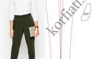 Женские брюки с защипами: особенности кроя и правила комплектования. Как называются брюки, для которых характерны складки на поясе? Моделирование брюк со складками у пояса