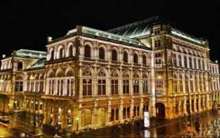 Венская государственная опера: история, описание, фото. Венская государственная опера Внешнее и внутреннее убранство