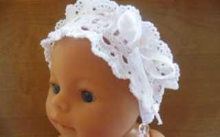 Вязанная повязка на голову для маленьких девочек. Мастер-класс «Повязка на голову «Маленькая модница»». Повязка на голову крючком для девочки — Пошаговое описание с фото