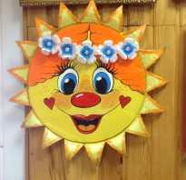 Как сделать солнце из ткани своими руками. Поделка солнышко: мастер-класс с пошаговым пояснением как и из чего можно сделать детскую поделку (60 фото). Солнышко из ткани