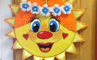 Солнце из цветной бумаги. Поделка солнце. Как и из чего сделать детскую поделку Солнце своими руками? Инструменты и материалы для изготовления солнышка своими руками