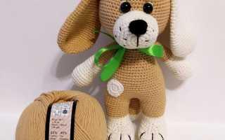 Вязание пуделя крючком схемы и описание. Амигуруми. Вязание крючком игрушки собачки в стиле амигуруми со схемами и описанием для начинающих. Вязание мордочки пуделя