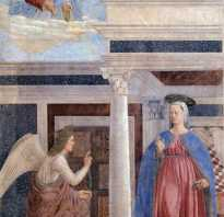 История искусства в одном сюжете: Благовещение. Путешествие святого семейства в египет в западноевропейском искусстве