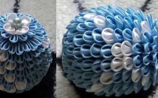 Как украсить деревянное пасхальное яйцо ленточками. Пасхальные яйца своими руками из атласных лент в стиле канзаши и артишок, бисера, макарон – мастер-классы, фото, видео