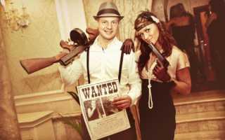 Свадьба в стиле «Чикаго» – как оформить и не рассмешить гангстеров. Свадьба в стиле гангстеров Чикаго: оформление свадьбы в стиле мафии