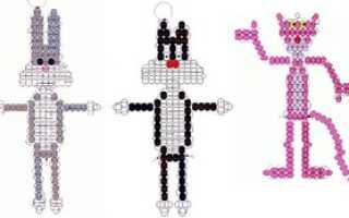 Бисероплетение для начинающих схемы животных. Фигурки из бисера своими руками: пошаговые инструкции