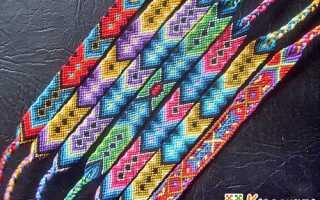 Как плести фенечки из ниток мулине: схемы с описанием. Фенечка из ниток своими руками. Как сделать фенечку из нитки? Советы для начинающих