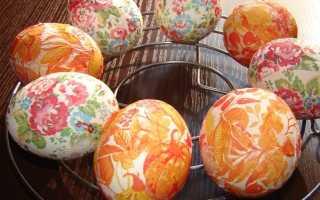 Как украсить яйца на Пасху своими руками в домашних условиях для детей поэтапно, декупаж из салфеток. Чем украсить яйца на Пасху. Как украсить пасхальные яйца своими руками