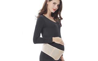 Как правильно носить и одевать бандаж для беременных. Дородовый и послеродовый универсальный бандаж