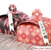 Новогодняя большая коробка своими руками. Как сделать подарочную коробку-елку на Новый год? Схема и мастер-класс? Материалы для работы