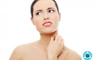Чешется шея: почему на шее раздражение, покраснела кожа. Раздражение после бритья на шее