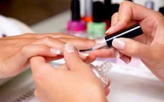 Особенности наращивания ногтей разными способами. Виды и технологии наращивания ногтей