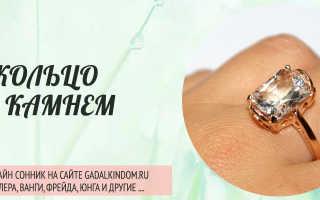 Сонник: к чему снятся кольца с камнями. Толкование снов: к чему снится кольцо с камнем