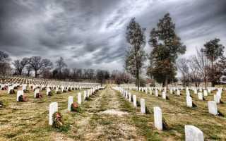 На какие даты ходят на кладбище. О вечерних посещениях могил