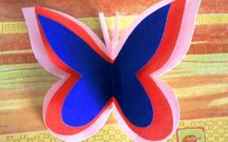 Бабочка из бумаги своими руками: фото, схемы и шаблоны. Как сделать бабочку из бумаги? Как сделать бабочку своими руками из бумаги, ленты и других подручных материалов