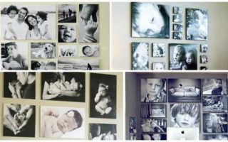 Коллаж на день рождения сыну. Как сделать коллаж из фотографий на день рождения ребенка