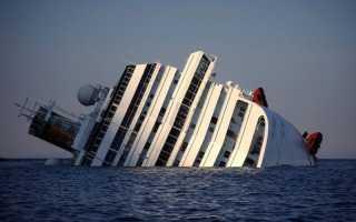 Самая дорогостоящая операция в истории: Подъем лайнера Коста Конкордия. Затонувшие корабли, которые видны с поверхности