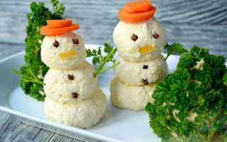 Оригинальные салаты и закуски в виде снеговика к Новому году! Как сделать снеговика на Новый год из ваты. Как сделать снеговика своими руками из еды