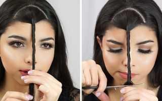 Как подстричь длинную челку самостоятельно. Как самостоятельно красиво подстричь чёлку