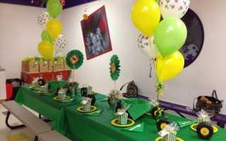 Что приготовить и как украсить детский стол на день рождения. Меню детям на день рождения: рецепты. Меню на годик ребенку на день рождения