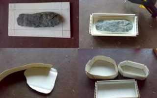 Как самому изготовить декоративный камень. Искусственный камень своими руками в домашних условиях