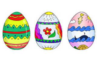 Как нарисовать пасху поэтапно карандашом. Необходимые материалы к мастер-классу по созданию рисованного пасхального яйца