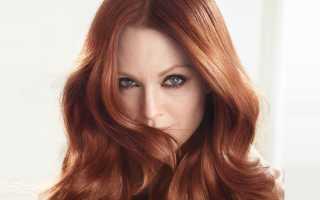 Естественные русые оттенки волос. Медный цвет волос: как выбрать свой оттенок (фото)