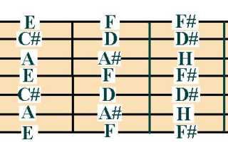 Семиструнная 7 гитара русская гитара настройка. Настраиваем семиструнную гитару самостоятельно
