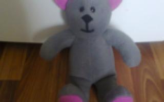 Как сделать большую мягкую игрушку своими руками. Поделка медведь: мастер-класс изготовления медвежат из различных материалов (95 фото-идей). Игрушка в стиле тильда. Зайцы